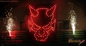 Lichterbild Krampus